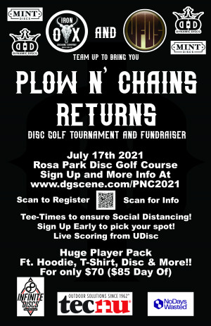 Plow N' Chains Returns 2021 graphic