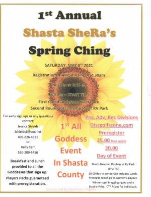 Shasta SheRa's Spring Ching graphic