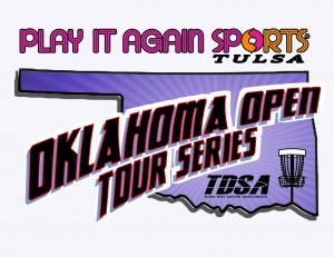 Play It Again Sports Oklahoma Open Tour Series - Twin Bridges Disc Golf Course graphic