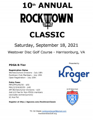 The Rocktown Classic presented by Kroger graphic