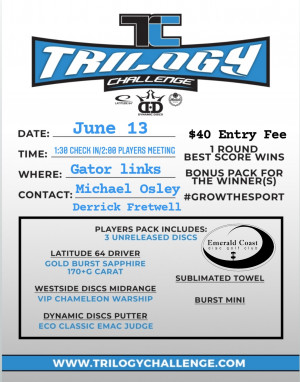Trilogy Challenge at Gator Links graphic