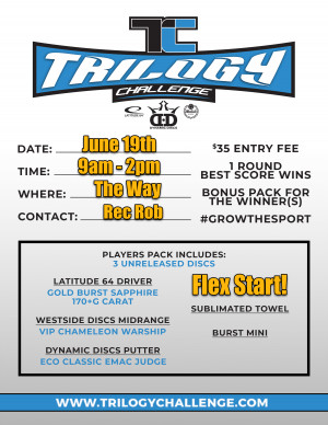 Trilogy Challenge @ The Way graphic