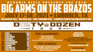 Dynamic Discs Presents the 29th Annual Big Arms on the Brazos graphic
