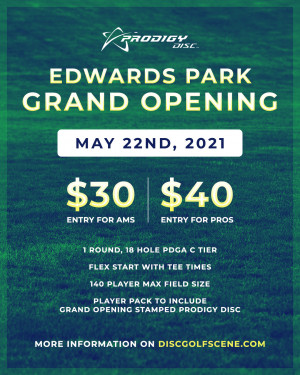 Grand Opening at Edwards Park Powered by Prodigy graphic