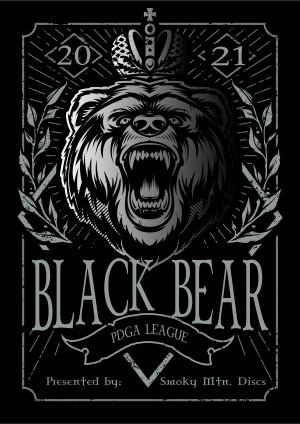 Black Bear PDGA League 2021 - Week 9 graphic
