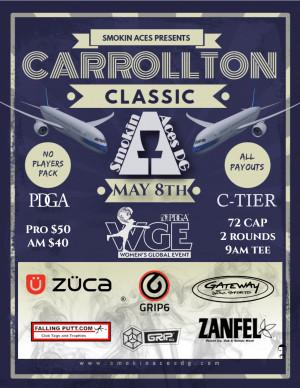 Smokin Aces presents the Carrollton Classic + WGE graphic