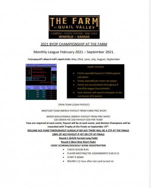 2021 BYOP Championship at The Farm #4 graphic