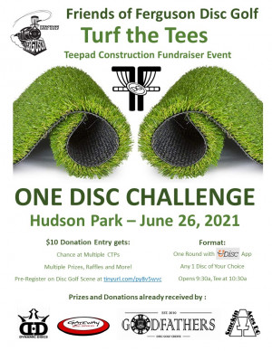Turf the Tees - Fundraiser Event graphic
