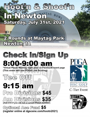 Hoot'n and Shoot'n in Newton graphic