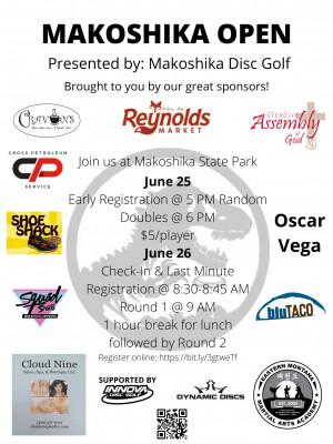 Makoshika Open 2021 graphic