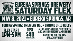 Dynamic Discs Presents: 2nd Annual Eureka Springs Brewery Bananza graphic