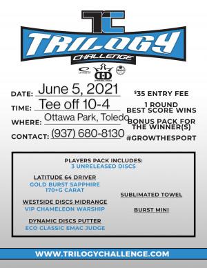 Trilogy Challenge @ Ottawa Park graphic