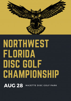 Inaugural Northwest Florida Disc Golf Championship graphic