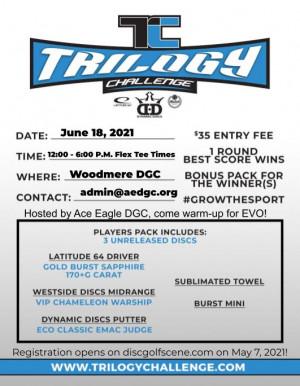 2021 Trilogy Challenge - Ace Eagle Disc Golf Club graphic