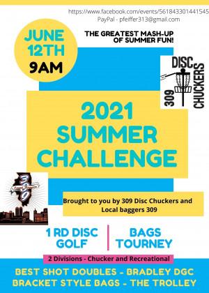 2021 Summer Challenge graphic