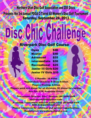 Disc Chic Challenge graphic