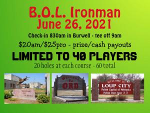 B.O.L. Ironman - 2021 graphic