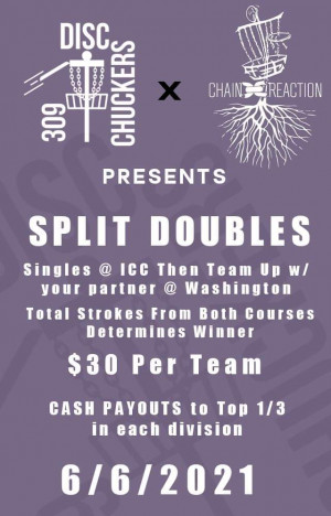 Split Doubles presented by Chain Reaction graphic