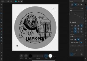 The Inaugural Liam Open graphic