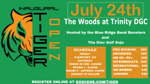 The Inaugural Tiger Open graphic