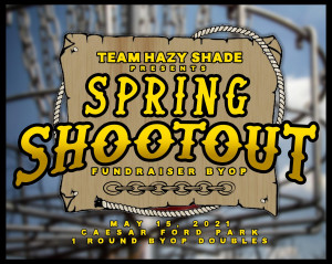 Team Hazy Shade Present the Spring Shootout at CFP graphic