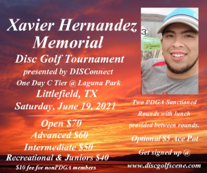 Xavier Hernandez Memorial presented by DISConnect graphic