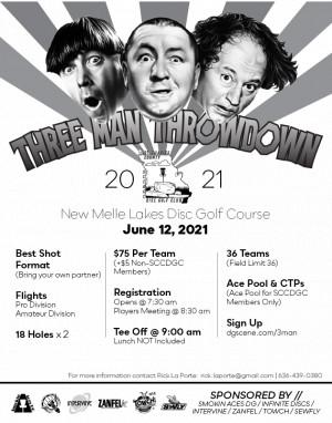 3-Man Throw Down graphic