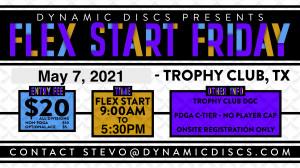 Dynamic Discs Flex Start Friday @ Trophy Club graphic