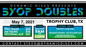 Dynamic Discs BYOP Doubles @ Trophy Club graphic