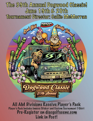 The 39th Annual Dogwood Classic graphic
