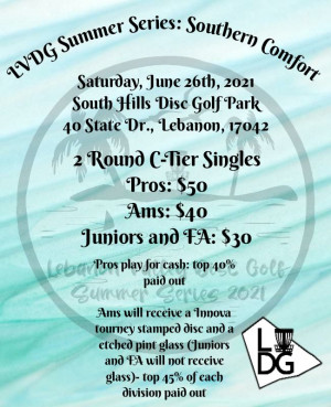 LVDG Summer Series: Southern Comfort graphic