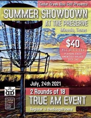 Summer Showdown at the Preserve graphic