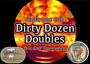 Dirty Dozen Doubles Tournament graphic