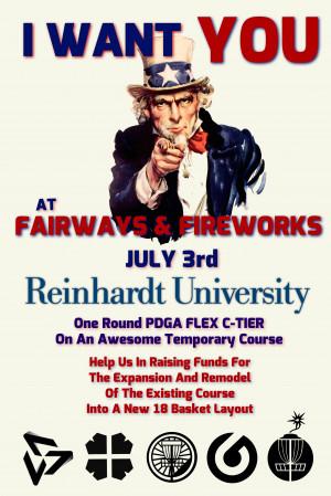 Fairways & Fireworks graphic