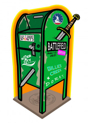 Battlefield Open Presented by Play It Again Sports RVA graphic
