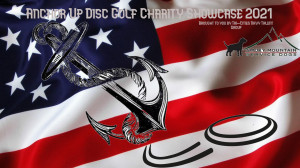 Anchor Up Disc Golf Charity Showcase graphic