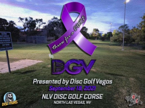Throw for a CURE presented by Infinite Discs & Neon Black Clothing graphic
