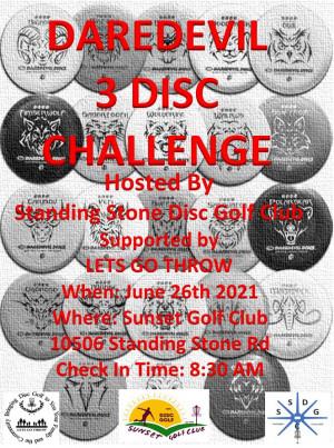 DAREDEVIL 3 DISC CHALLENGE graphic