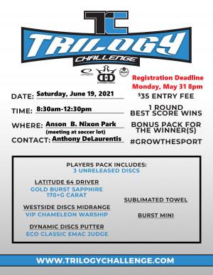 Trilogy Challenge Anson B. Nixon WCADG graphic