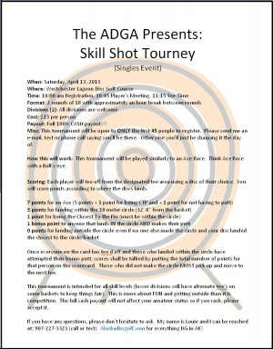 Skill Shot 20-13 graphic