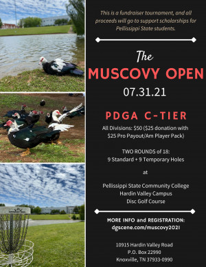 The Muscovy Open graphic