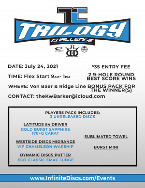 2021 Cache Valley Trilogy Challenge graphic