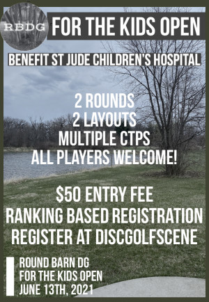 For The Kids Open - A Benefit for St Jude Children's Hospital. graphic