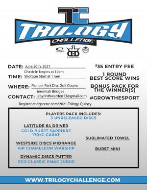 Trilogy Challenge - Quincy, CA graphic