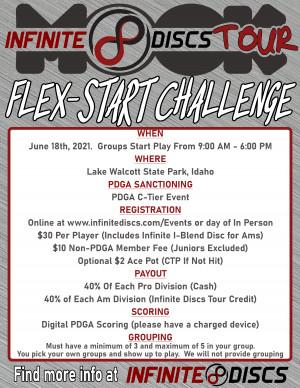 Infinite Discs Tour Flex Start Challenge - Walcott graphic