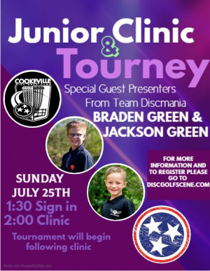 Junior Clinic and Tournament graphic