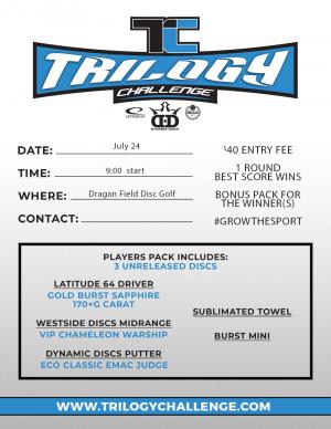 Trilogy Challenge & Greenhorn Tournament graphic