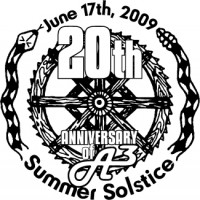 A3disc Summer Solistice 2009 graphic