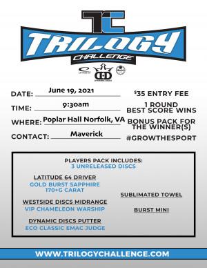 2021 Trilogy Challenge at Poplar Hall graphic