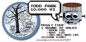 Todd Park 10,000 VI graphic
